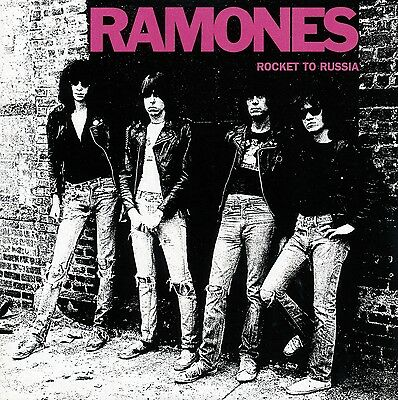 The Ramones..Rocket To Russia... Iconic Album Cover Poster A1A2A3A4 Sizes