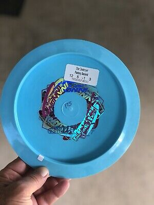 Innova Swirled Star Destroyer 175g w/ Wraith Multi Stamp One Sick F2 Golf Disc