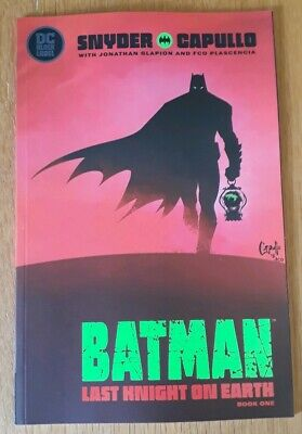 Batman The Last Knight On Earth #1 First Print. Nm.