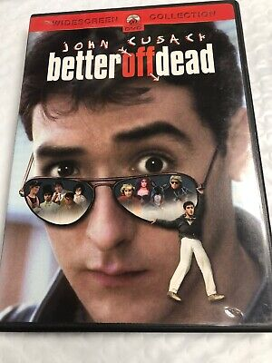 Better Off Dead (DVD, 1985) John Cusack | Curtis Armstrong With Insert