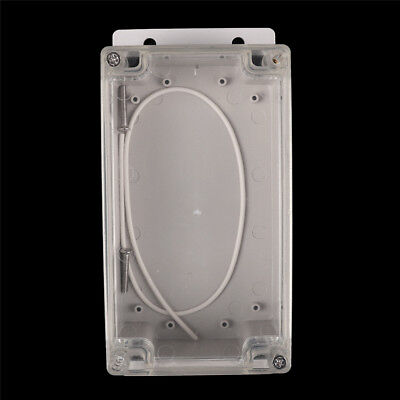 158x90x65mm Clear Waterproof Plastic Electronic Project Box Enclosure  Case gh