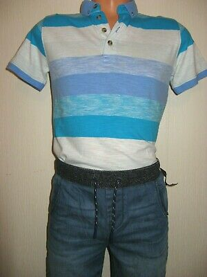 New Tagged Boys Next Cuffed Waist Pull On Skinny Leg Jeans & Next T-Shirt Age 11