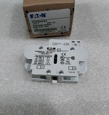 C320Kgs2 Cutler Hammer Auxiliary Contacts 1Nc A2 New!