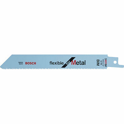 Bosch S922BF Metal Cutting Reciprocating Saw Blades Pack of 25
