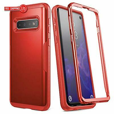 YOUMAKER Case for Galaxy S10, Heavy Duty Protection Full Body Shockproof Slim Fi
