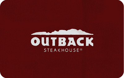 2 $100 Outback Steakhouse Gift Card Bonefish Grill Carrabba's Fleming's