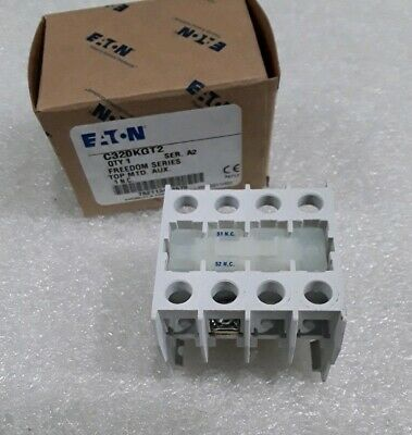 C320Kgt2 Cutler Hammer Auxiliary Contacts Series A2 New In Box!