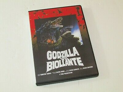 Godzilla Vs Biollante Japan Dvd. Region Free Nm/M