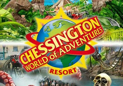 2 X Chessington World Of Adventures Tickets Thurs 11Th July 2019   11/7/19