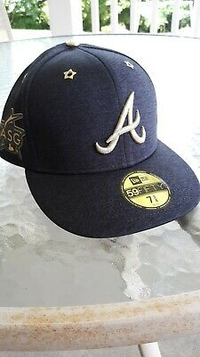low priced 546fd 1eb00 New Atlanta Braves New Era 2017 MLB All-Star Game sz 7 3 8