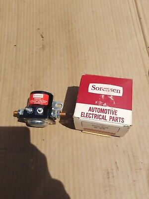 NEW 12v AMC JEEP FORD LINCOLN MERCURY STARTER SOLENOID SWITCH 56-78