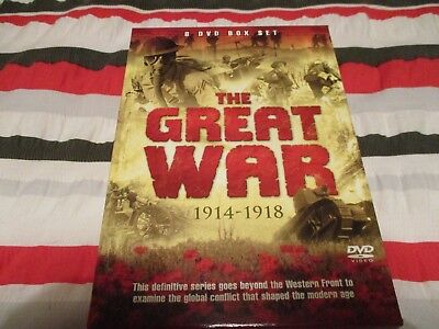 The Great War, 1914-1918, 8-Disc DVD Box Set