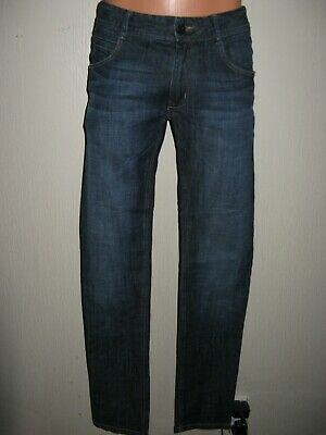 Worn Once Boys Genuine Hugo Boss Dark Wash Classic Straight Leg Jeans Age 14-16