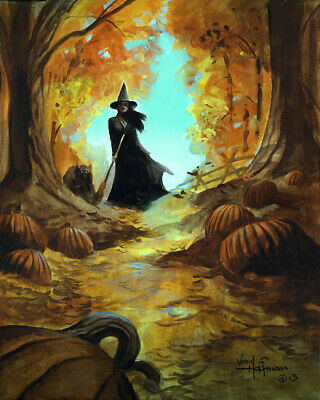THE WITCH WALK!  16x20 Fine Art Print on Heavy Paper by Mike Hoffman!