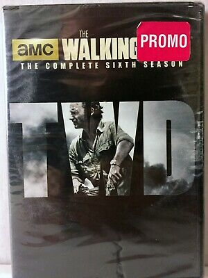 The Walking Dead Season 6 PROMO New/Sealed  DVD 5 Disc Box Set
