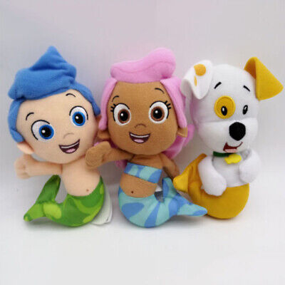 BUBBLE GUPPIES MOLLY Bubble Puppy Gil AUTHENTIC Stuffed Toy