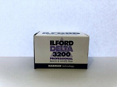*New* 2 Rolls Ilford Delta 3200 – 35mm Black And White Film - 36 Exp Fresh Stock