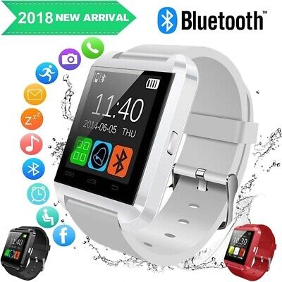 Waterproof Smart Wrist Watch Gold Bluetooth Phone Watch For Android For IOS