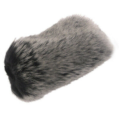 1X Pro Outdoor Dusty Microphone Furry Cover Windscreen Muff For TAKSTAR SGC-598