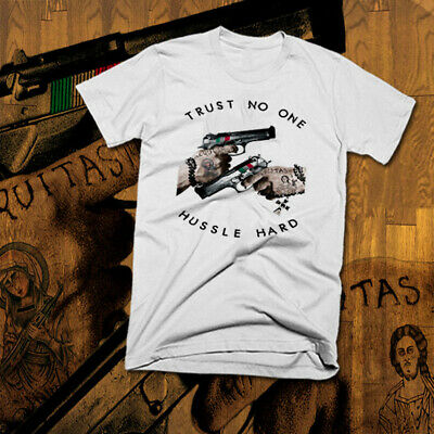 T-Shirt Trust no one Skull haters tattoo ink oldschool Schädel One life Hardcore
