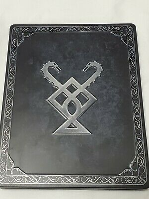God Of War PS4 Stone Mason Collector's Limited Edition Steelbook Case W/ Game!