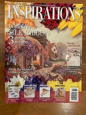 INSPIRATIONS MAGAZINE issue 69 RARE * PATTERNS STILL ATTACHED vgc