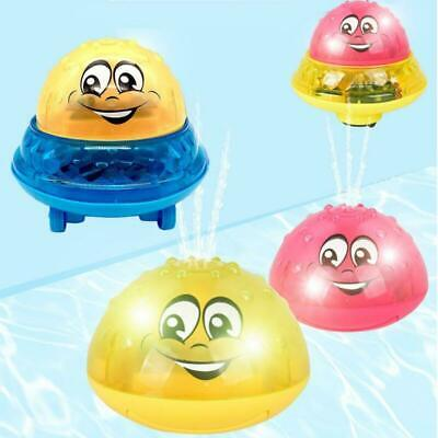 Bath Toy Light Cute Infant Children's Electric Induction Sprinkler Toy Light