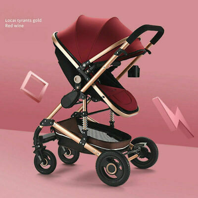 2 In 1 NEW Baby Stroller Foldable Pram Car Pushchair Infant Carriage Travel