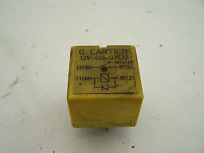 Renault Clio MK2 (2002-2005) Relay 03532