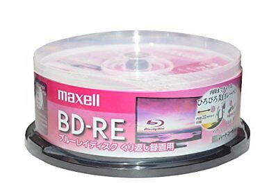 maxell�Eapan-Blank BD-RE Blu-ray Discs 25GB 130min White From japan