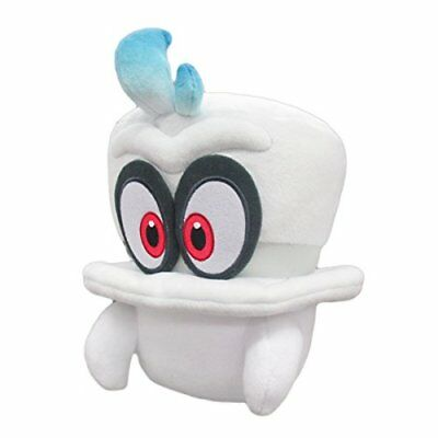 SANEI Super Mario Odyssey Cappy Plush Stuffed Toy 20cm
