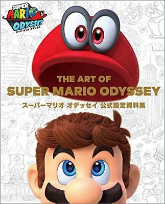 THE ART OF SUPER MARIO ODYSSEY Official Setting Material Collection From japan