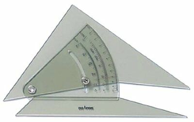 Dorapasu freely adjustable triangle 3mm thick 20cm 13904 From Japan new.