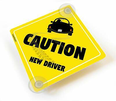 Customized Caution New Driver Window Car Sign Baby on Board Style