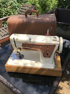 Electric Singer Model 239 with Pedal Sewing Machine STILL IN ITS CASE