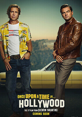 Once Upon a Time In Hollywood Poster NEW 2019 Tarantino FREE P+P, CHOOSE UR SIZE
