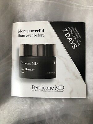 Perricone Md Cold Plasma + Face Visible Results Trial Set 7 X 2ml (14ml) New