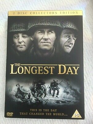 The Longest Day (DVD, 2-Disc Set) Collectors Edition + Special Features