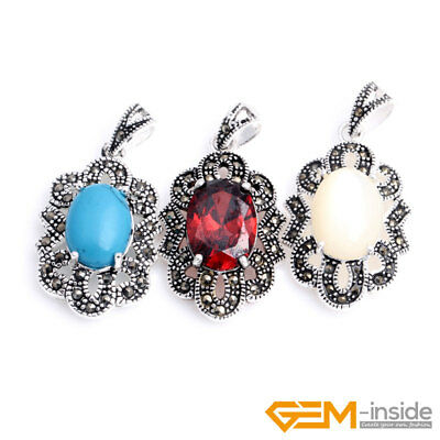 Fashion Charm Jewelry Pendant Chain Silver Plated Necklace For Women Gift YB