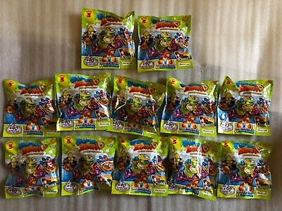 12 Packs Of Superzings Rivals Of Kaboom. Series 3. Brand New.  Still Sealed