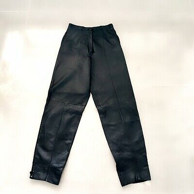Gianne Franco Ferre Size 5-8 Vintage Leather Pants