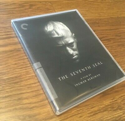 THE SEVENTH SEAL (Blu-ray Disc, 2009, Criterion Collection) Bergman. LIKE NEW!