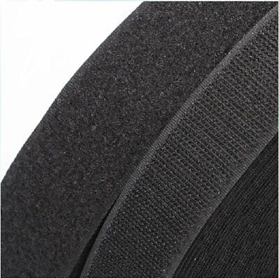 Sticky Back Tape Self Adhesive Hook Loop 3/4inch 5Yard Black velcro straps Cable