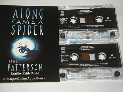 James Patterson - Along Came A Spider - Read Keith David Cassette Tape Audiobook