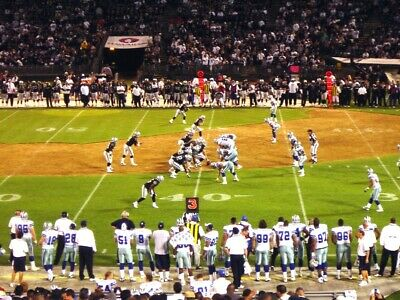 2-40YdLn LOWER AILSE LOS ANGELES CHARGERS @ OAKLAND RAIDERS TICKETS 11/7 TNF!