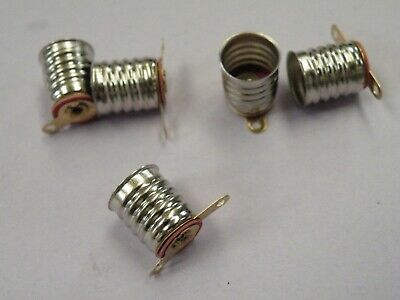 5 Pc MES Miniature Screw Bulb Holder Models Railways Dolls House  GP10