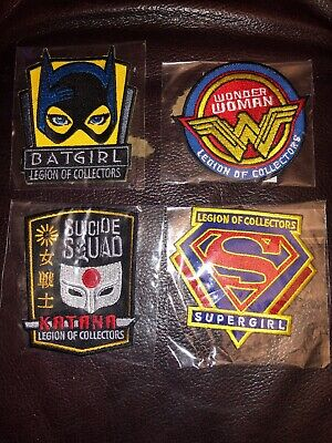 BATGIRL PATCH BADGE JET FUNKO DC COMICS EXCLUSIVE LEGION OF COLLECTORS