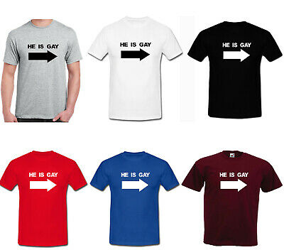 Gay Joke New T-Shirt Lesbian Funky Cool Funny Humour Quote Top Hilarious Wet