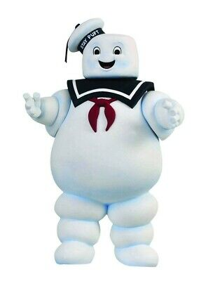 "Ghostbusters STAY PUFT 11"" figure bank Marshmallow Man puff puffed Zuul Slimer"