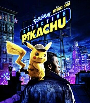 Pokemon Detective Pikachu Dvd 2019-New Free Fast Shipping 🚀